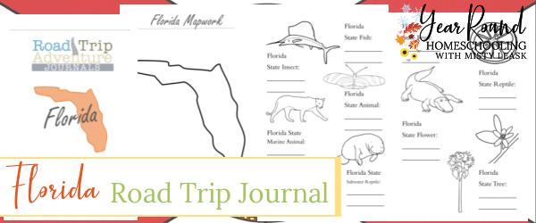 florida road trip journal, florida journal, journal florida, road trip journal florida
