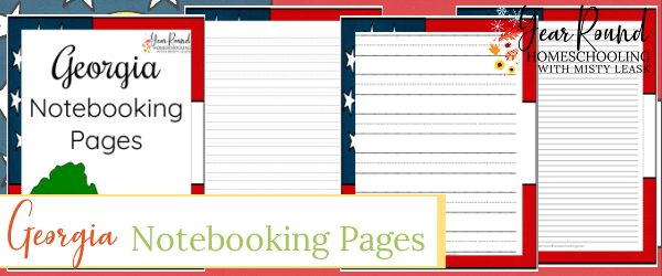 georgia notebooking pages, notebooking pages georgia, georgia notebooking, notebooking georgia, georgia state notebooking pages, notebooking pages georgia state