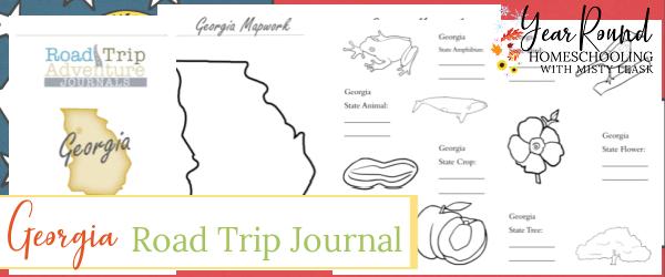 georgia road trip journal, road trip journal georgia