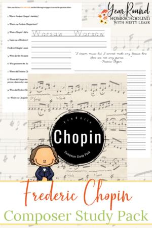 Composer Music Study: Chopin