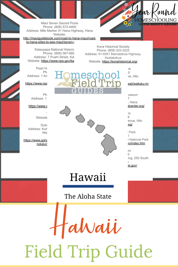 hawaii field trip guide, field trip guide hawaii