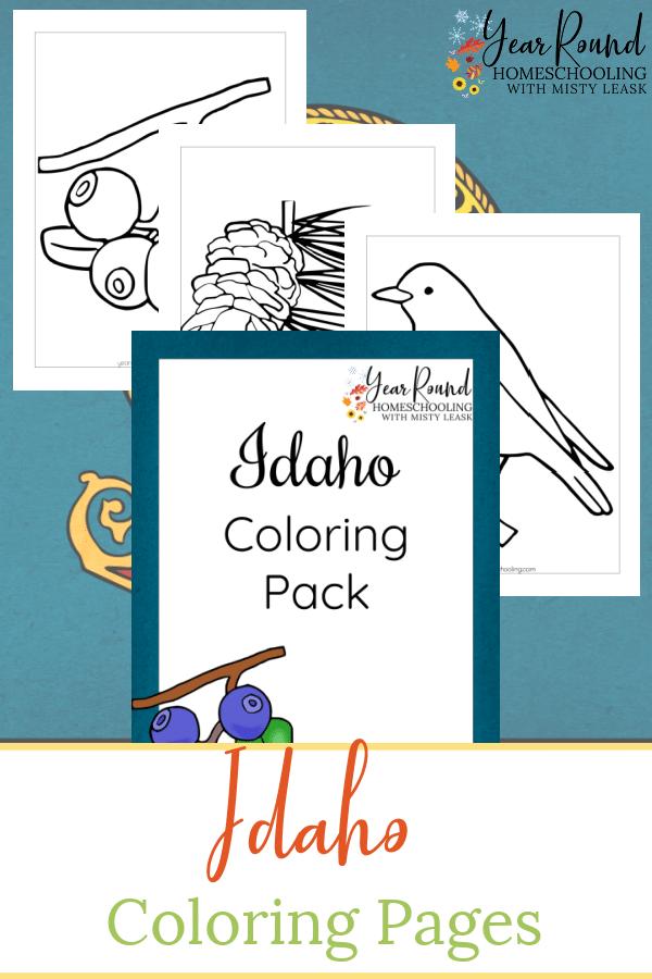 idaho coloring pages, coloring pages idaho, idaho coloring, coloring idaho