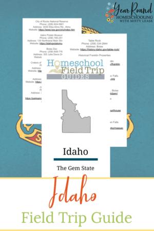 Digital Idaho Field Trip Guide