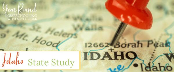 idaho state study, state study idaho, idaho study, idaho unit, idaho unit study, unit study idaho, study idaho