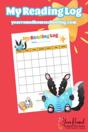 PreK/K Sticker Reading Chart