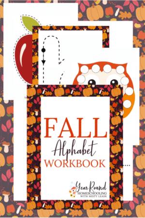 Fall Alphabet Pack